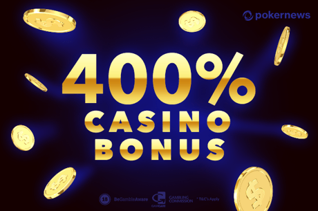Hier gibt es den 400 % Casino Bonus