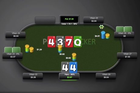 Is it Ever Correct to Fold a Set in a Low Stakes Poker Game?
