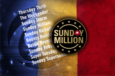 Finala romaneasca dubla Sunday Million. AndyKidPoker pe 2 (122.386$) dupa 250 de turnee lifetime