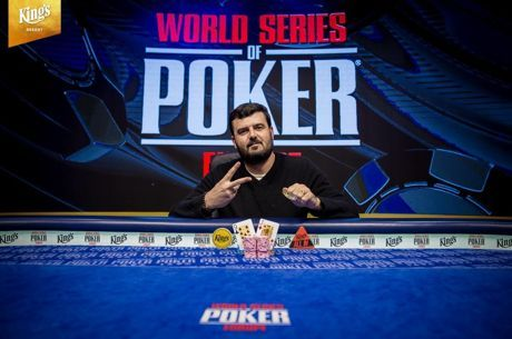 Тимур Марголин - победитель WSOPE €1,100 MONSTER STACK
