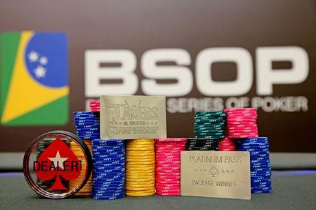 BSOP Millions Distribuirá 4 Platinum Passes para Torneio nas Bahamas