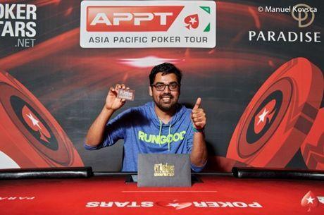 Sumit Sapra Wins $30,000 PSPC Platinum Pass At APPT Korea