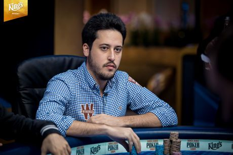 Adrian Mateos Claims Day 1B Chip Lead in the 2018 WSOPE Main Event