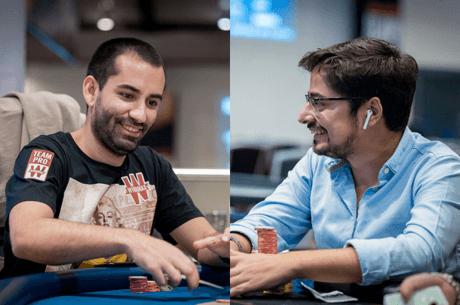 João Vieira e Michel Dattani ITM no Main Event das WSOPE 2018