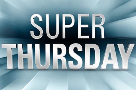Super Thursday no Poker Online para El Flatador, KKmatamoscas e TAMN20