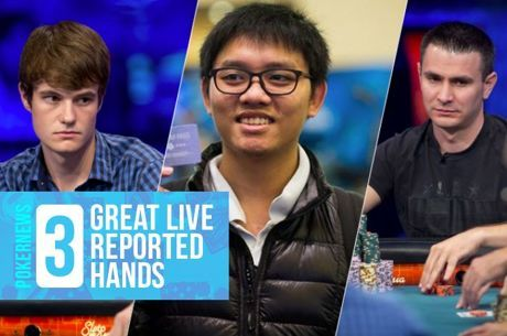 Three Great Live Reported Hands: Mucking When All In, Blind Prize, and a Crucial Double Up