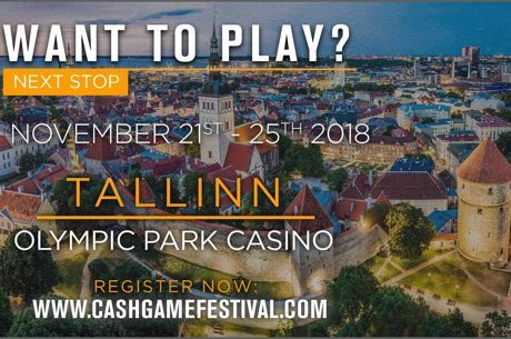Cash Game Festival von 21. bis 25. November in Tallinn