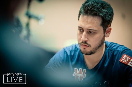 Mateos Uses Second Bullet to Bag Lead in partypoker CPP $10,000 High Roller