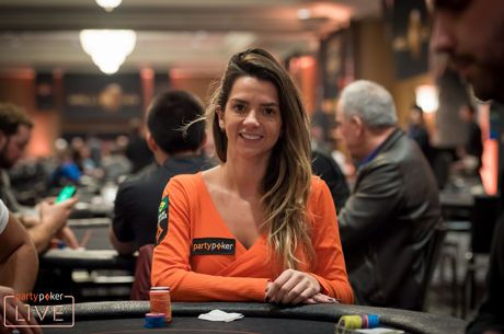 Dayane Kotoviezy Mantém Brasil no Main Event do Caribbean Poker Party