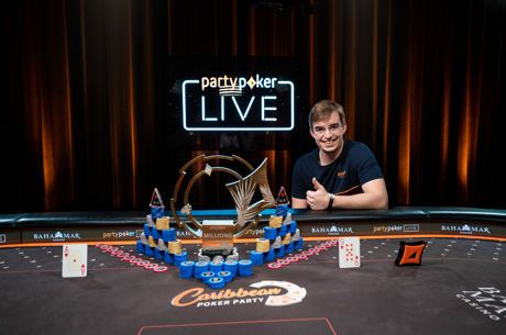 Filipe Oliveira wins the Caribbean Poker Party $5,300 Main Event ($1,500,000)