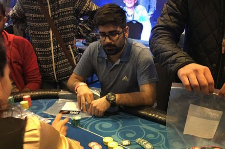 Akshay Nasa Bags Day 1b Chip Lead in Biggest WPT India Main Event