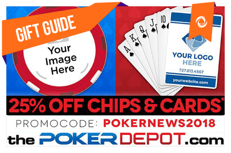 2018 PokerNews Holiday Gift #2: Custom Poker Chips and Playing Cards at ThePokerDepot.com