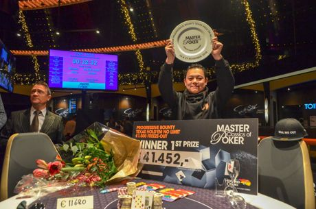 Toan Nguyen Takes Down the Master Classics of Poker €1,500 Progressive Bounty