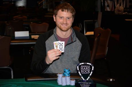 David Peters Wins Same Rock 'N Roll Poker Open Two Years In a Row