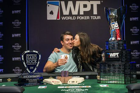 Pavel Plesuv Continues Hot Year with WPT Rock 'N' Roll Poker Open Win