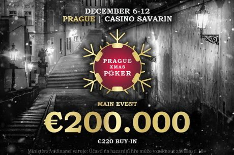 Rebuy Stars Savarin garantiert beim Main Event des Prague Xmas Poker € 200.000