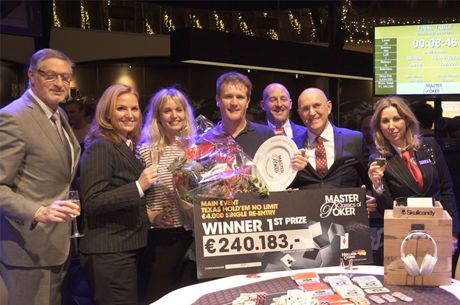 Dutch Celebrity TV Host Alberto Stegeman Wins the Master Classics of Poker Main Event