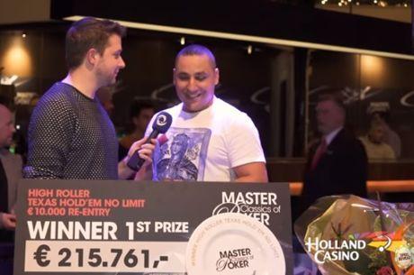 Hakim Zoufri pakt tweede MCOP-bordje na overwinning in €10.000 High Roller!