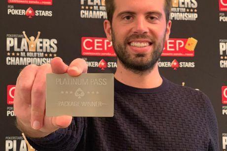 Ramón Colillas campeón de España de Poker por PokerStars 2018