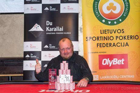 Paskutinį LSPF metų turnyrą laimėjo Ernestas Dairutis