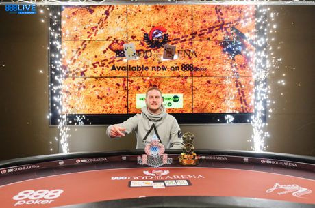 James Williams Wins the 2018 888poker LIVE Festival London (£121,000)