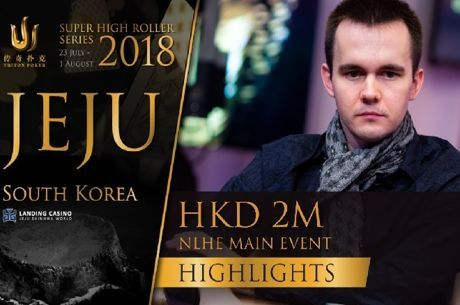 Destaques do Triton Poker SHR HK 2M Main Event Jeju 2018