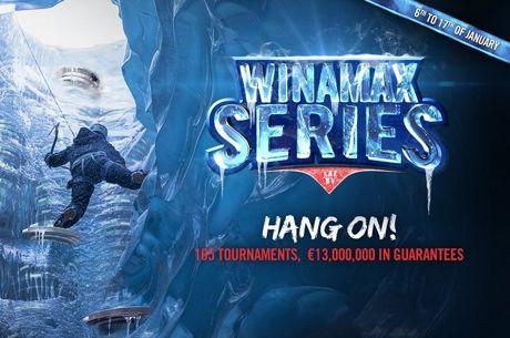 Winamax Series com Maior Torneio da Liquidez Partilhada