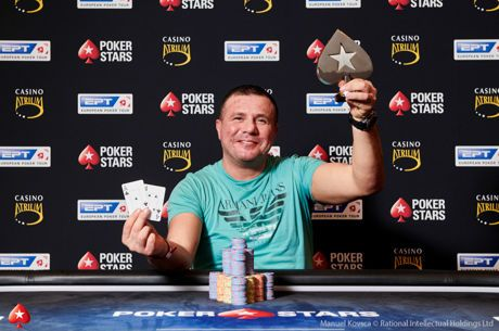 Akin Tuna Gets First Tournament Win in EPT Prague €10,300 No-Limit Hold'em