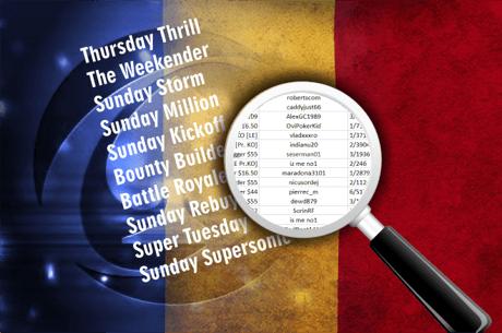 Finalele romanesti ale saptamanii pe PokerStars: scoruri numeroase, multe nume noi in top