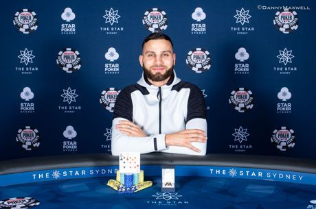 Huss Hassan Wins $1,320 Six-Max at the WSOP International Circuit Sydney