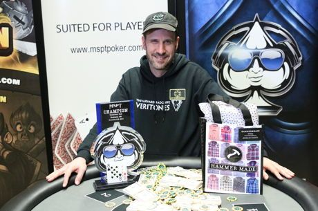 Andy Rubinberg Wins 2nd MSPT Title for $179,776; Brandon Welter Nabs Platinum Pass