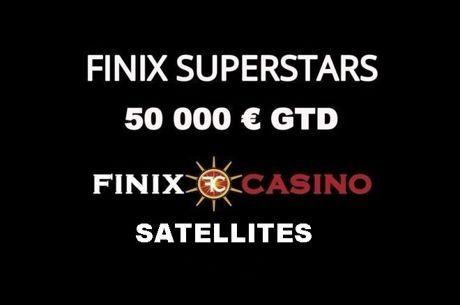 Finix: Δύο προκριματικά αυτή την εβδομάδα για Main Event και High Roller του Superstars December