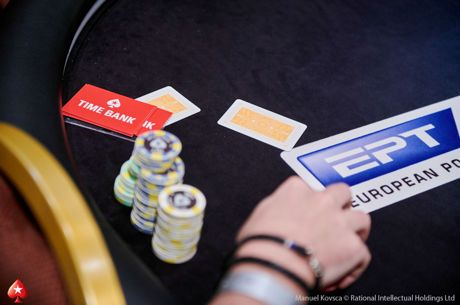 European Poker Tour Praag - Nederlanders uitgeschakeld in €1.100 National