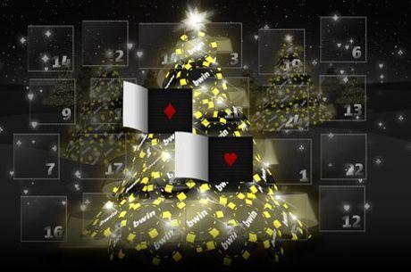 Спечели различна награда от Коледния календар на Bwin Poker всеки ден до 25 декември