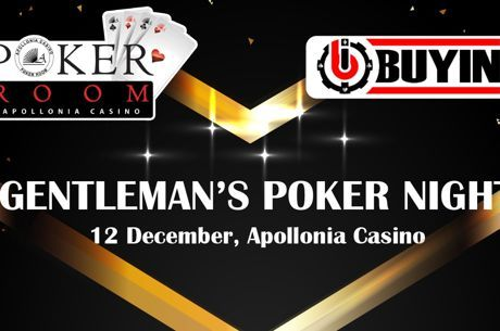 Apollonia: Gentleman's poker night, Deepstack και φιλανθρωπικό event