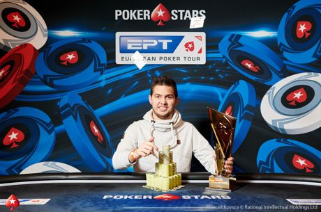 Matthias Eibinger Conquista €50,000 Super High Roller do EPT Praga