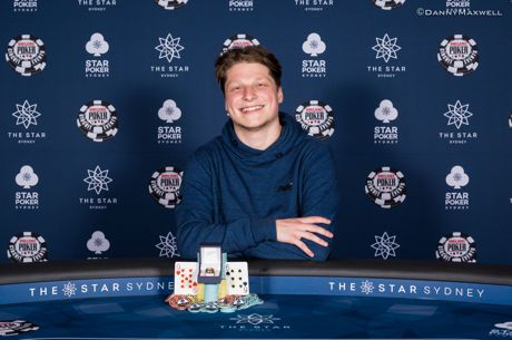 Luke Martinelli Wins $20K High Roller at the WSOP International Circuit The Star Sydney ($356,250)