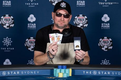 Easy Game for Robert Sutherand - Wins the First World Series of Poker Short Deck Event for $37,152