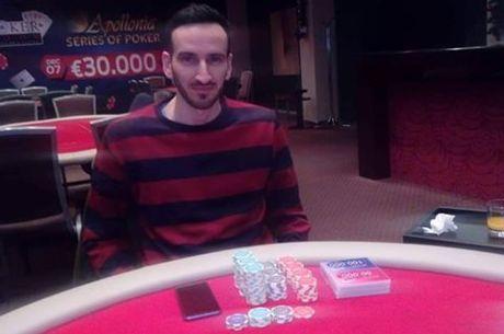 Apollonia: Ο Δαγκλιάρης κατακτά το €5.000 Deepstack με 3way deal