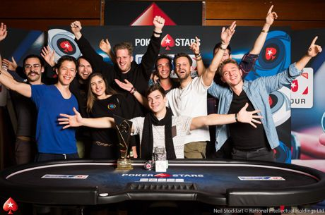 Paul Michaelis gewinnt das 2018 EPT Prague Main Event nach Deal