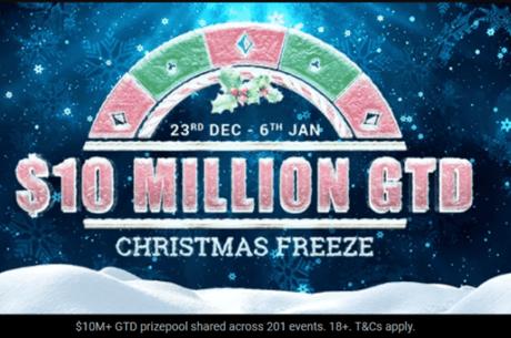 Christmas Freeze турнирен фестивал с $10 милиона гарантирани започва на 23 декември в Bwin Poker