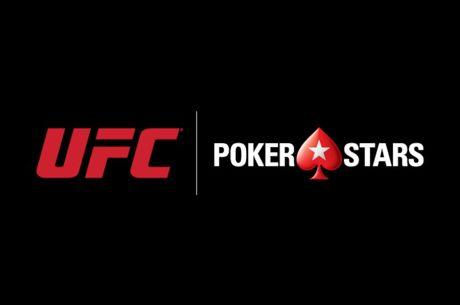 """PokerStars Fecha Negócio com UFC e è Agora """"Parceira Oficial de Poker"""""""