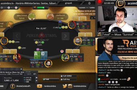 Winter Series PokerStars.FRESPT: Streaming de André Coimbra