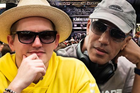 Joey Ingram Hosts Poker Life Podcast with Bill Perkins Live from the PCA