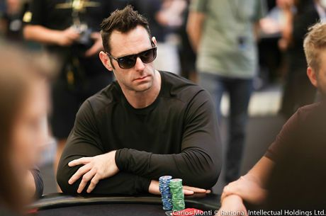 Retired NFL Offensive Lineman Evan Mathis Takes on Poker Pros at the PCA