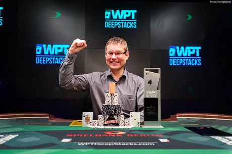 Thomas Hofmann Closes Out WPTDeepStacks Berlin for $150,825 Payday