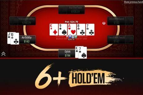 6+ Hold'em debiutuje na PokerStars!