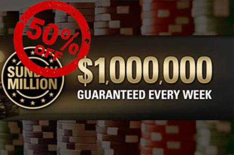 PokerStars reduce definitiv la jumatate buyin-ul in Sunday Million