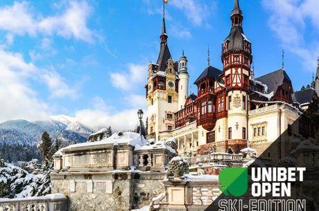 Зимно издание на Unibet Open от 12 до 17 февруари в Румънския ски курорт Синая