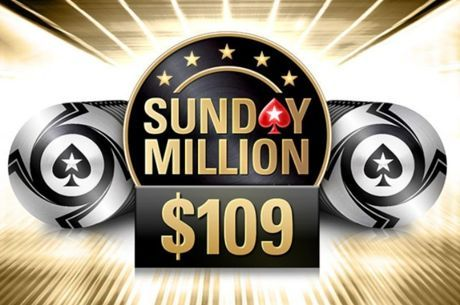 PokerStars Baixa Buy-in do Sunday Million para $109